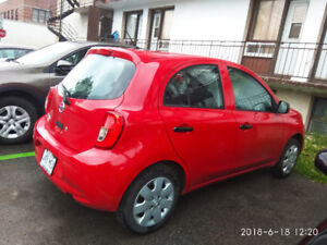 Lease transfer Nissan Micra 2016, 82000 km left for 26 months