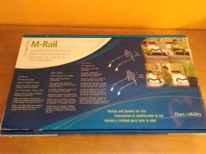 Garde corps ajustable pour lit, barre de lit, barrière M-Rail