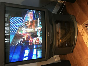 "36"" Sony Trinatron TV & Matching Stand"