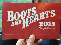 Boots And Hearts 4-Day Pass