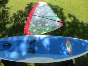 GO Board 190L and 5.5 sm or 8.4 sm Neil Pryde Sail and Rigging