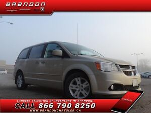2013 Dodge Grand Caravan Crew  Leather Seats, 2nd Row Heated Sea