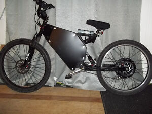 Mountain Ebike 72 Volts / 3600 Watts (normal double suspension)