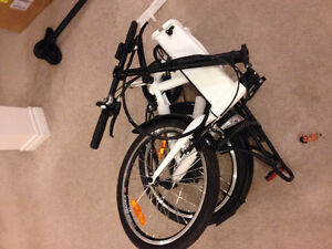 Gently used folding Electric bike For sale