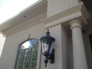 Exterior Stucco Trim & Interior Plaster Crown Moldings & Columns Stratford Kitchener Area image 4