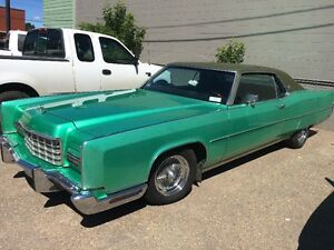 Classic Car! 1973 Lincoln Continental Coupe (2 door)