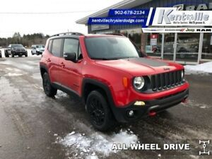 2018 Jeep Renegade Trailhawk  - Bluetooth -  Uconnect