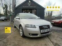 2007 Audi A3 1.6 Sport 3dr Hatchback Petrol Manual