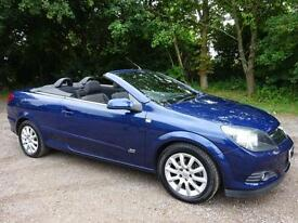 Vauxhall Astra 1.8 VVT Twin Top Sport Convertable