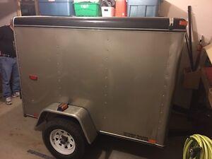 4x6 enclosed cargo trailer