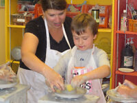 1-3 hr pottery or fused glass workshops at Clay for Kids & Adult