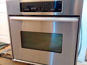 Kitchen Aid built in Convection oven OR cooktop