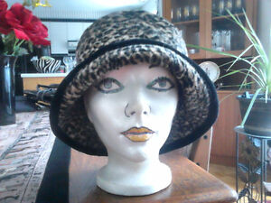 Ladies Cute Leopard Print Hats