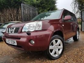 Nissan X-Trail 2.2 DCi 136 4x4 Aventura, Sat Nav, Leather,