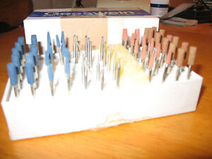GESSWEIN BLUE & BROWN MOUNTED POINTS & GRINDERS Peterborough Peterborough Area image 2
