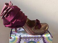 Irregular choice size 4 shoes