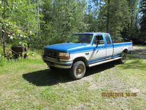 1995 Ford F-250 4X4 extended cab Pickup Truck
