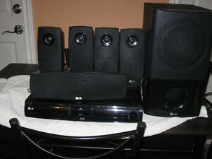 LG BlueRay player with surround