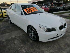 2004 BMW 525i E60 White 6 Speed Auto Steptronic Sedan
