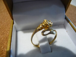 14k yellow gold lion necklace, bracelet and ring