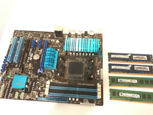 Asus M5A97 R2.0 AM3+ Motherboard + 16GB DDR3 Kit