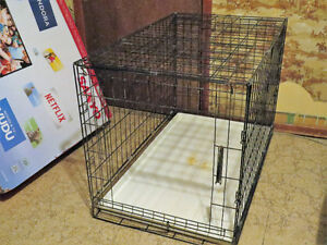 LARGE & EXTRA LARGE WIRE DOG CRATES
