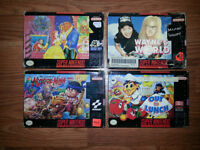 Boxed Super Nintendo Games for Sale