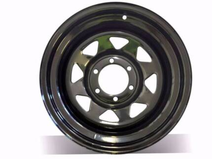 4x4 Sunraysia rims steel wheels trailer wheels From $70,+4WD TYRE
