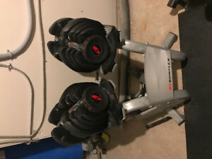Bowflex 1090 Select Tech Dumbbell Set
