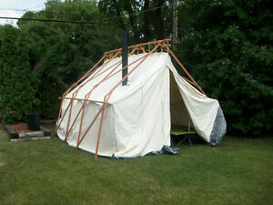 Canvas Prospector's Tent for Sale