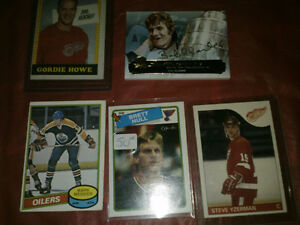 High end hockey cards- lot of 5  140 for all