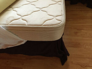 Double box spring and mattress $100.00