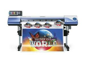 Roland VersaCAMM VS-540i Large Format Inkjet Printers Cutters - BUY or RENT