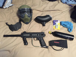I am looking to sell my only twice used Paintball gun.