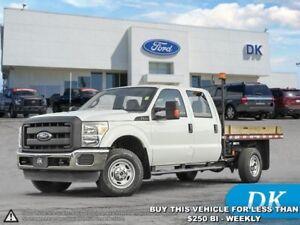 2013 Ford F-350 Super Duty XL - 6.2L Gas Deck Truck