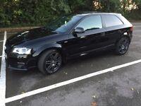 Audi A3 black edition sline