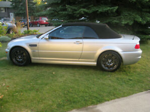 BMW M3 Convertible - mint, manual, low km - Conditionally Sold