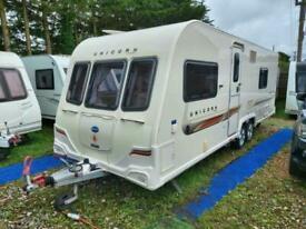 2011 Bailey Unicorn Barcelona 4 Berth Fixed Bed Twin Axle E/Wroom Caravan MMover