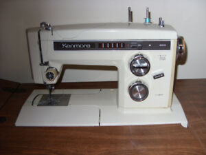Kenmore Sewing Machine and Cabinet.