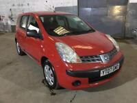 2007 Nissan Note 1.4 S 5dr 5 door MPV