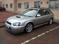 2005 Subaru Impreza WRX SL (leather) Wagon Estate Prodrive PPP Crystal Grey Blobeye