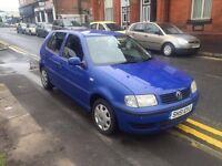 2001 51 REG VW POLO 1.9 DIESEL RUNS AND DRIVES WELL TOW BAR PX WELCOME