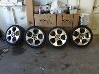 Genuine Bbs Monza gti alloys not rotiform 5x112 3sdm show edition 30 golf a3