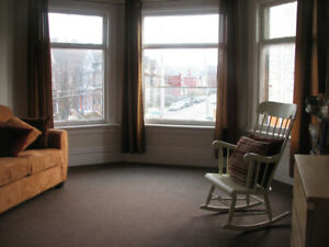 Bright two-level apartment in central location