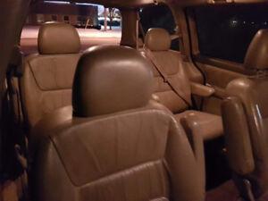 2004 Honda Odyssey Beige Minivan, Van