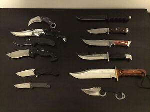 Cold Steel, Kershaw, ZT and Others Knives for Sale