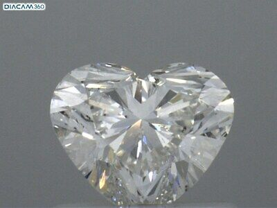 Design Your Own Ring With The Natural Diamond -3/4 Carat Heart Shape Diamond SI1