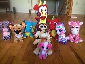Almost brand new stuffed animals CHEAP!