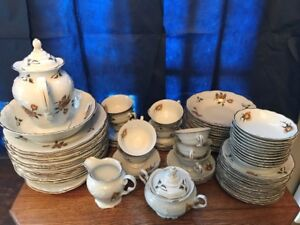 Vintage 77 Piece Dinner and tea set, made in Poland