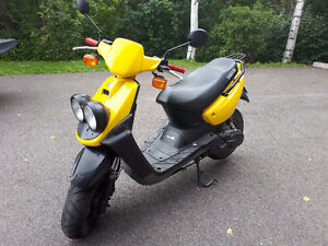 yamaha bws 2008 1400$ d'option